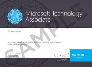 Microsoft Technology Associate (MTA) – International Test Center